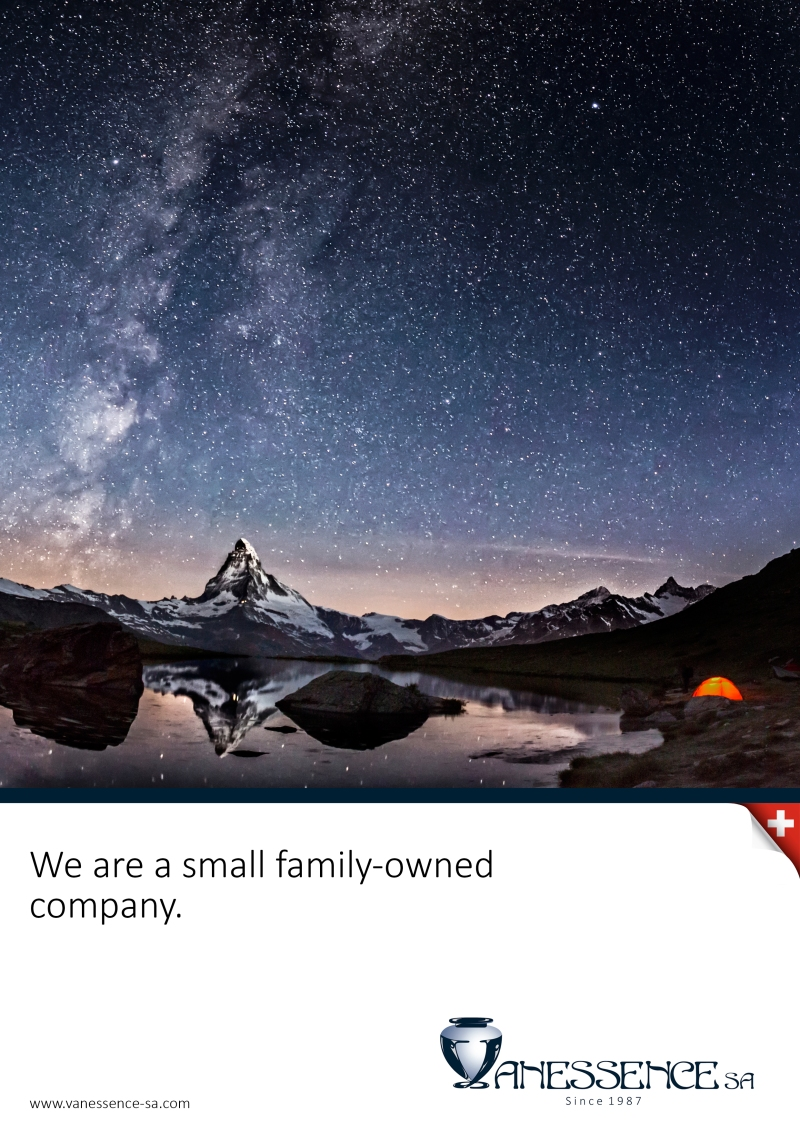 We are a small family-owned company