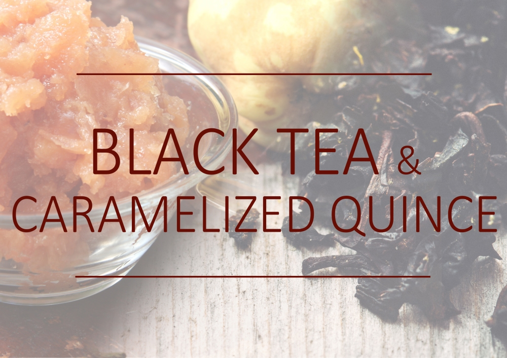 Fragrance trends - Winter 2017 - Black tea and caramelized quince