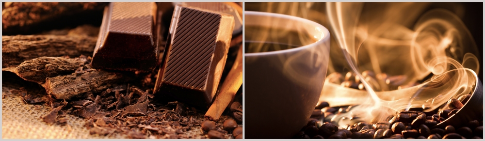 Chocolate and coffee montage 2