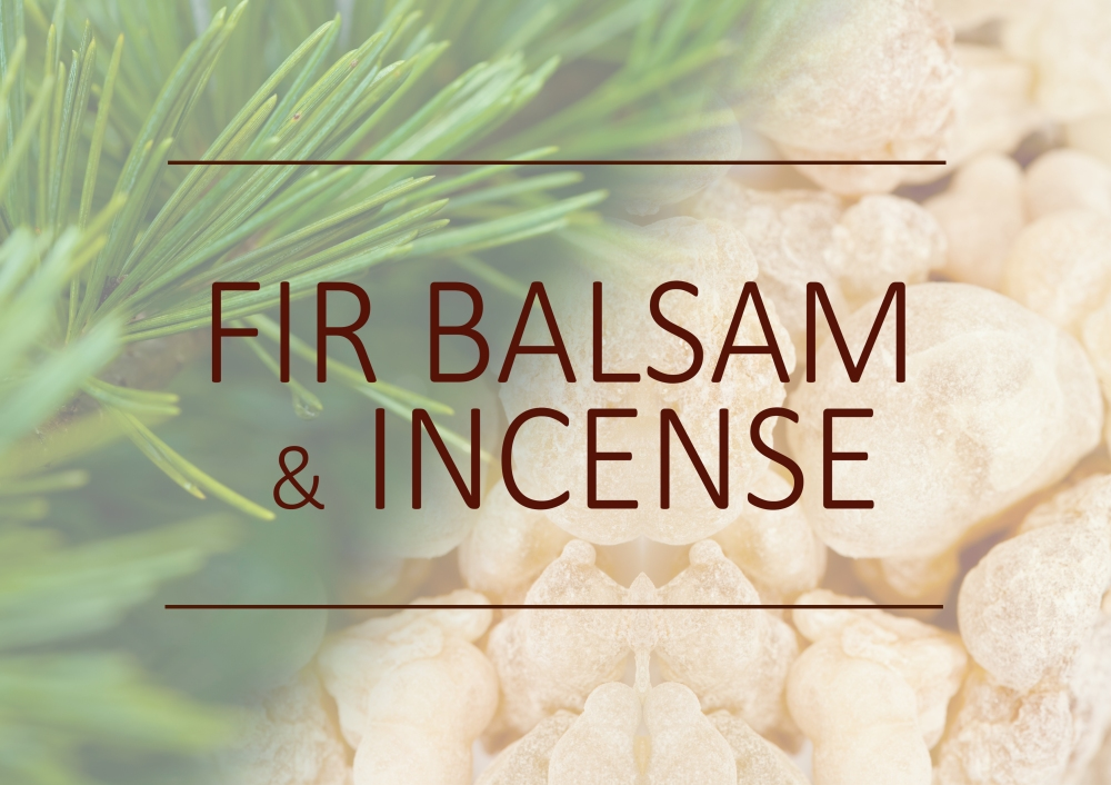 Fragrance trends - Summer 2018 - Fir balsam and incense