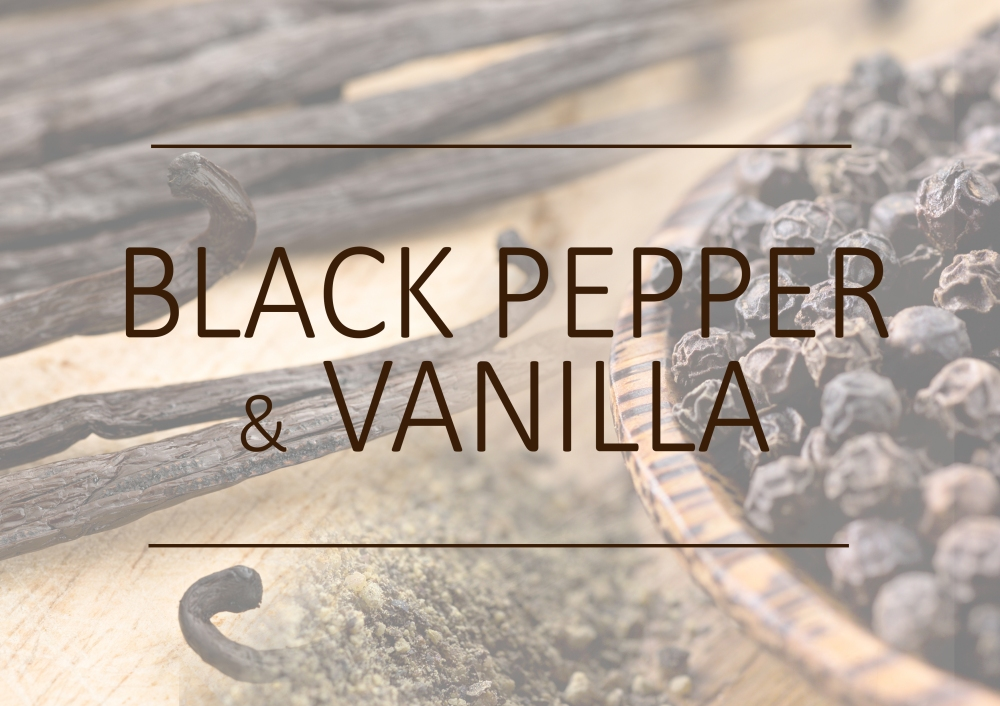 Fragrance trends - Winter 2018 - Black pepper and vanilla