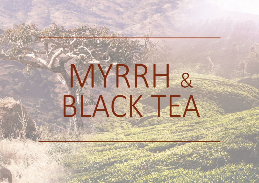 Fragrance trends - Myrrh and Black tea