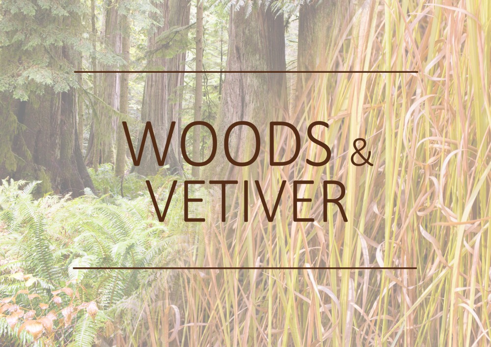 Fragrance trends - Woods and Vetiver