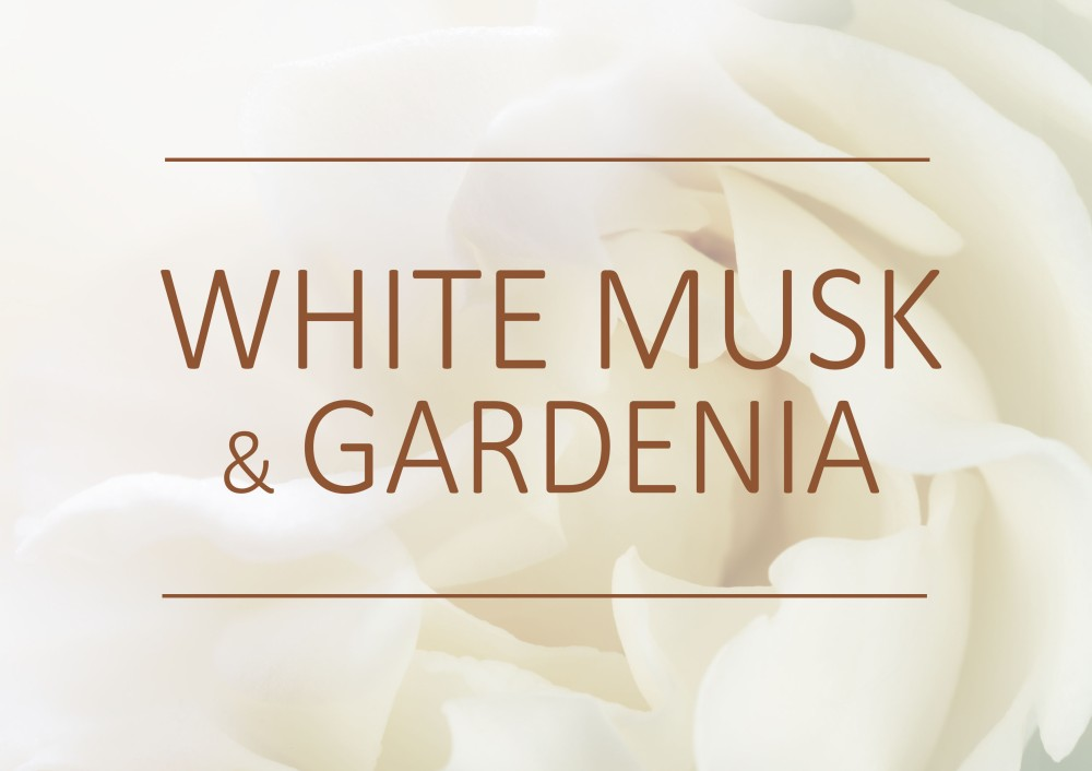 Fragrance trends - Winter - 2019 - White musk and gardenia