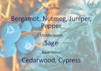 Fragrance trends - Juniper and purple sage pyramid