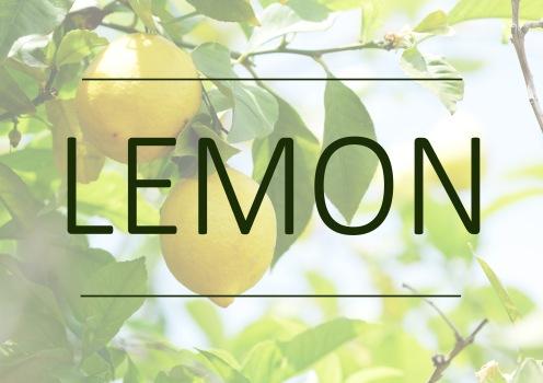 Fragrance trends - Lemon