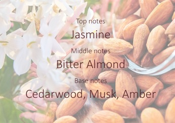 Fragrance trends - Jasmine and bitter almond pyramide